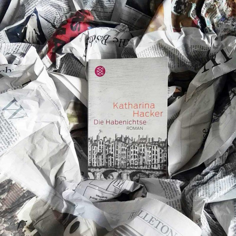 """Dieses Bild zeigt das Cover von Katharina Hackers Roman """"die Habenichtse"""""""