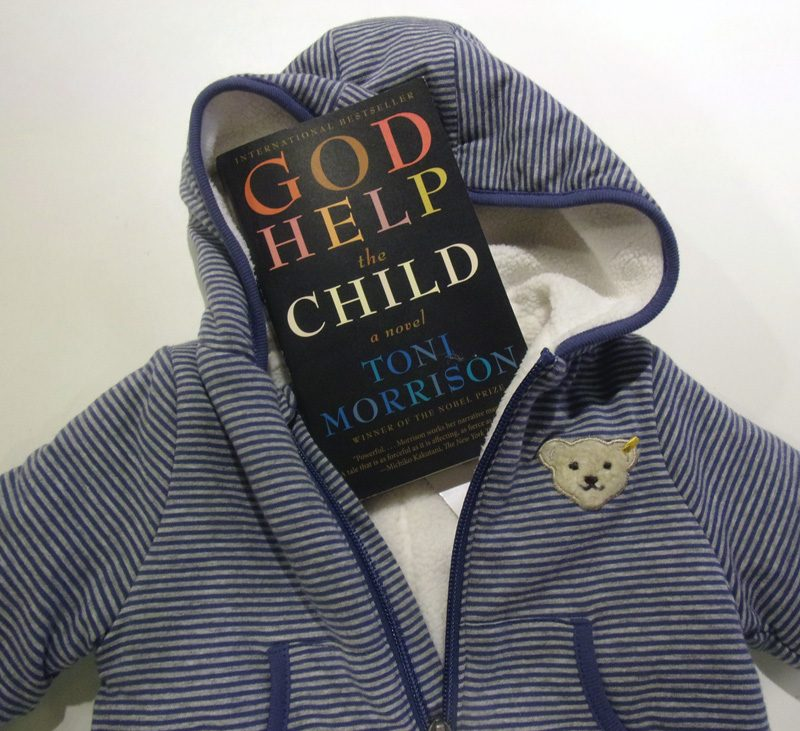 "Das Cover von Toni Morissons Roman ""God help the child"""
