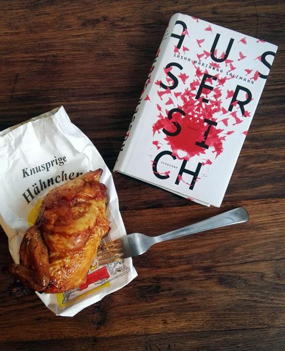 """Dieses Bild zeigt Sasha Marianna Salzmanns Roman """"Außer sich""""."""